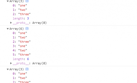js数组之间如何进行连接