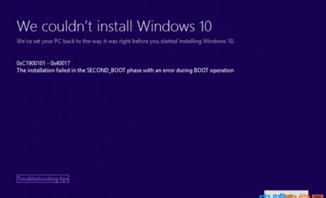 Win10升级更新失败错误代码大全及解决办法