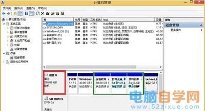 win8系统查看硬盘容量的操作方法