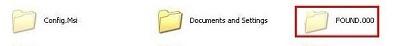 删除found.000文件夹方法