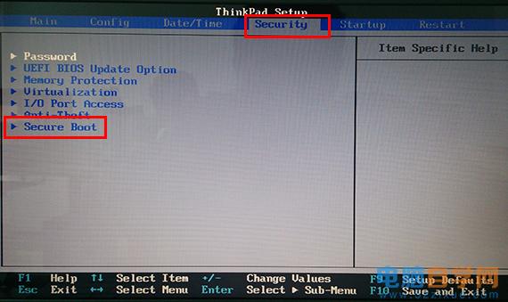 进入系统启动项窗口找不到U盘启动项的解决方法