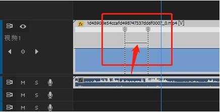 Pr如何在时间线添加关键帧?